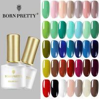 Glitter UV Gel Nail Polish Soak Off Top Base Coat  Varnish BORN PRETTY