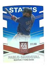 Pablo Sandoval 2015 Panini Elite Status Die Cut Card.# 155.