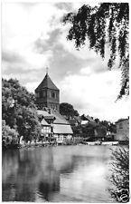 AK, Teterow Meckl., Kirche mit Mühlenteich, 1967