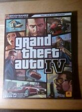 Grand Theft Auto IV Signature Series Guide w/Poster by Bogenn&Barba ~BradyGames