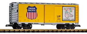 Piko Union Pacific Armour Yellow Steel Box Car 38831 G Scale Trains