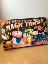 Kids Childrens Magic Set. Marvins Amazing Magic Tricks- Deluxe Version.