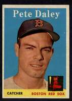 1958 Topps #73 Pete Daley NM+ Red Sox A3112