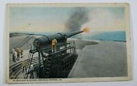 Vintage Fortress Monroe Early 1900s Rare Unposted Antique Postcard Collectible