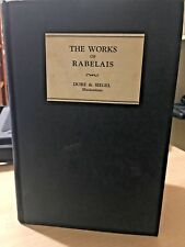 K5 The Works of RABELAIS Privately Printed illustrations by Gustave Dore English