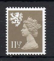 111/2p SCOTLAND REGIONAL UNMOUNTED MINT WITH PHOSPHOR OMITTED Cat £1000