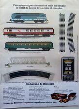 Publicité TRAIN ELECTRIQUE => coupure de presse 1  page 1972