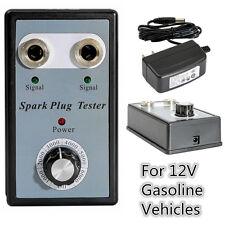 Car Diagnostic Tool Dual Spark Plug Tester 12V Gasoline Ignition Plug Detector