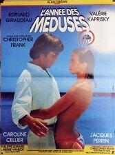 """L'ANNEE DES MEDUSES"" Affiche originale (Bernard GIRAUDEAU, Valérie KAPRISKY)"