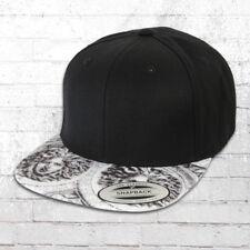 Yupoong Mütze Sun King Snapback Cap schwarz weiß Kappe Haube Capi Hat Basecap