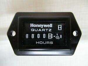 HONEYWELL 85094 HOUR METER 12-60VDC QUARTZ 2-SCREW MOUNT