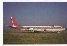 CMA Cargo Moravia Boeing 707-344B Aviation Postcard, A717
