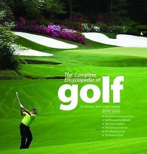 THE COMPLETE ENCYCLOPEDIA OF GOLF by Ted Barrett : WH2-R4A : HBL068 : NEW BOOK