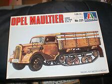 ITALERI 221 1/35 KIT OPEL MAULTIER German Half Track Sd.Kfz.3