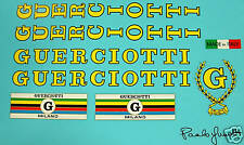 Guerciotti set of decals vintage multiple choices!!