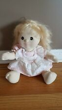 VINTAGE 1985 Mattel My Child Doll *Blonde Hair with Brown Eyes* ORIGINAL Outfit*