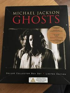 Ghosts Sony Promo Deluxe Collector Edition Boxset Michael Jackson CD VHS VGC