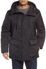 NEW  ANDREW MARC EXPLORER PARKA Men's Jacket Black Winter Down M $695