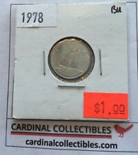 1978 Canadian 10 Cent in BRILLIANT UNCIRCULATED (BU) Condition