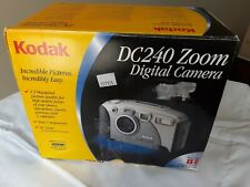 Vintage '90s Kodak Dc240 Zoom 1.3Mp Compact Point/Shoot Retro Digital Camera