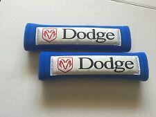 Blue Seat Belt Cover Shoulder Pads in 2 pcs-DODGE