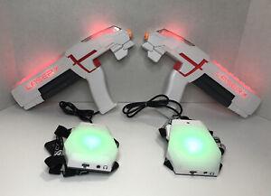 LASER X 2 Players Laser Gaming Set indoor Outdoor Lazer Tag Guns Both Work