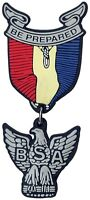 BOY SCOUTS OF AMERICA EAGLE SCOUT AWARD MEDAL PVC MAGNET SCHOOL LOCKER FRIDGE