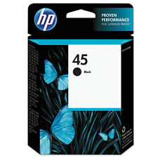 HP Genuine OEM 51645A HP 45 Black Inkjet Print Cartridge (830 YLD) 3 Pack