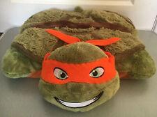 ⭐️ Teenage Mutant Ninja Turtles Pillow Pets Pal Cushion Soft Toy 💥Michel Angelo