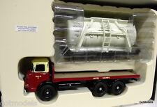 CORGI 1/50 Scala cc11606 Albione Reiver Platform CAMION CISTERNA & carico container BR