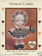 Oatmeal Cookie from Lollipop Lane (1984, Pamphlet) crocheting CDC407