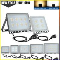 LED Fluter Flutlicht Strahler 10W 20W 50W 100W Außen Scheinwerfer UltraDünn