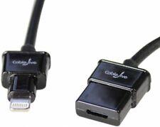 CableJive dockXtender L 180 cm Lightning extension cable Black 18436 FBA_18436