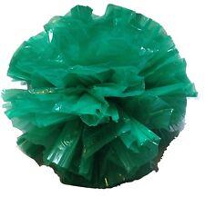 "25 Car Limo wedding Decoration Plastic Pom Poms Flower 4""  - kelly green"
