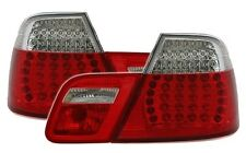 FEUX ARRIERE LED BMW SERIE 3 E46 COUPE 2003-2006 320 330 CD ROUGE BLANC