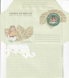 mae55 Mexico 2008 Mothers Day  postal stationery envelope PSE