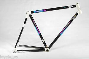 Vintage Rossin Strada Bicycle Frame Advance Carbon Allux 54 cm Road Bike