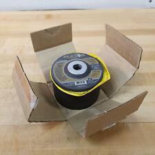 """New listing FlexOvit A0444 Flexon Type 27 Grinding Wheels, 4"""" x 1/4"""" x 5/8"""", 15,000 Rpm"""