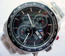 BMW M Power Motorsport Racing Style Sport Accessory Automatic Chronograph Watch