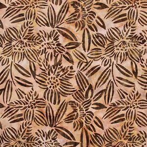 Batik Fabric, Printed Petal Blossom,100% Premium Cotton,110cm Wide