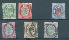 Malta 1903-11 crown CA sg.38-9, 41-4 used