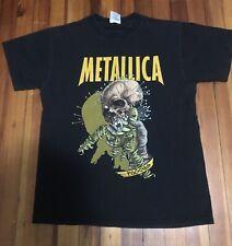 vintage metallica shirt L90s Pusshead Fixxxer Concert Tee Rock Metal Rap Tee