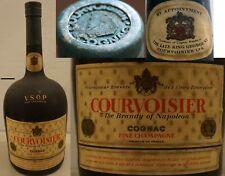 ancien Cognac COURVOISIER Fine Champagne VSOP 1950 bouteille alcool V.S.O.P.