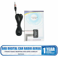 CAR DIGITAL RADIO STEREO GLASS WINDOW MOUNTED DAB AERIAL ARIEL ANTENNA ACTIVE