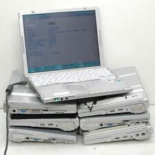 Lot: 7 Panasonic Toughbook CF-T7 T6 T5 for PARTS no HD/Batt.