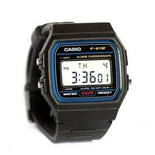 0b3258a68ee Casio Men s F91W-1 Classic Black Digital Resin Strap Watch