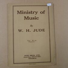 vocal score W H JUDE Ministry of Music
