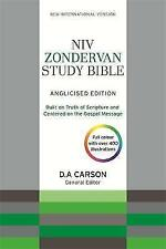 NIV Zondervan Study Bible (Anglicised): Leather by New International Version...