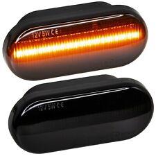 LED SEITENBLINKER schwarz für VW CADDY 2 + 3, PASSAT 35i, 3b, 3bg, T5 [7428-1]