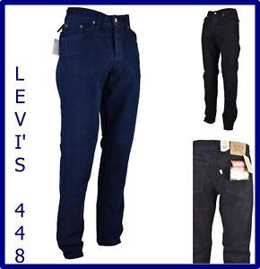 pantaloni levis uomo jeans Levi's vita alta invernali velluto blu nero 44 46 w32